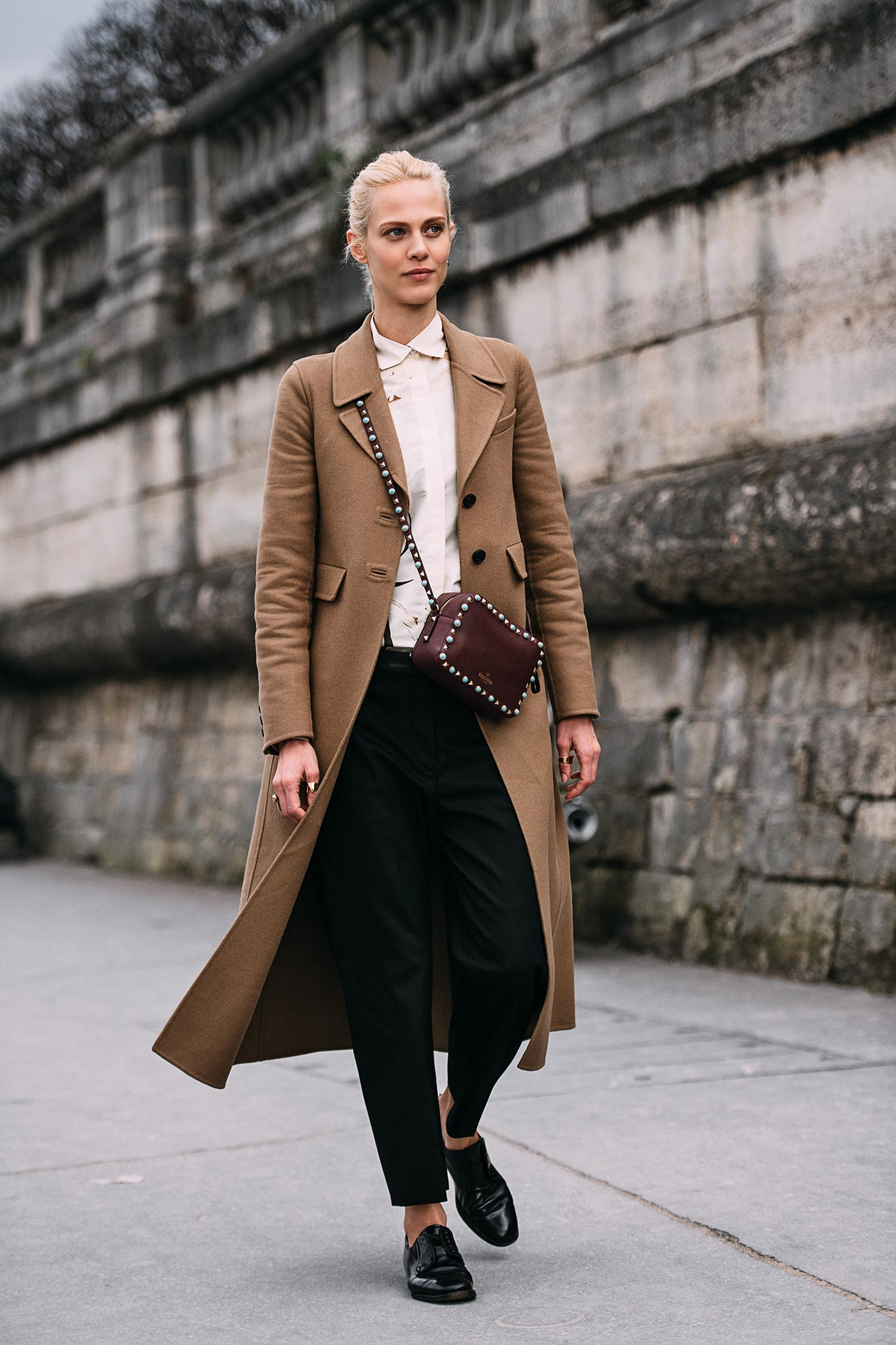 Aymeline Valade at Paris Fashion Week Fall/Winter 2016
