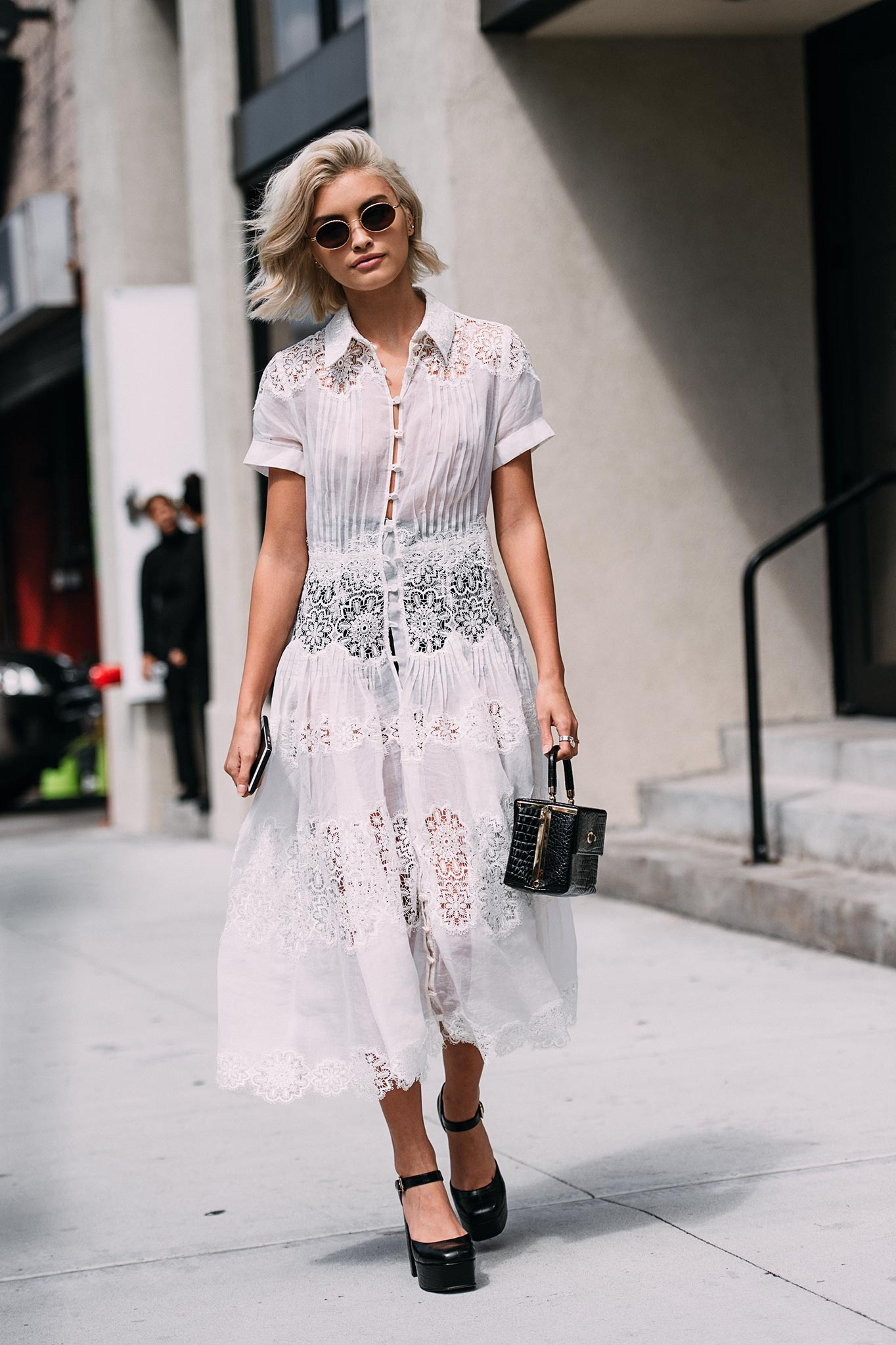 Sarah Ellen at New York Fashion Week Spring/Summer 2016