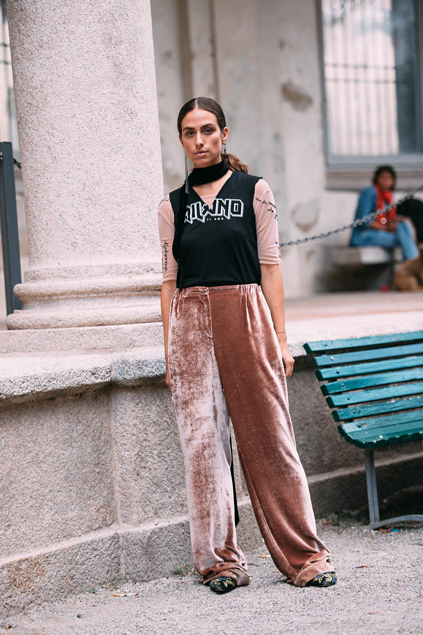 Erika Boldrin at Milan Fashion Week Spring/Summer 2017