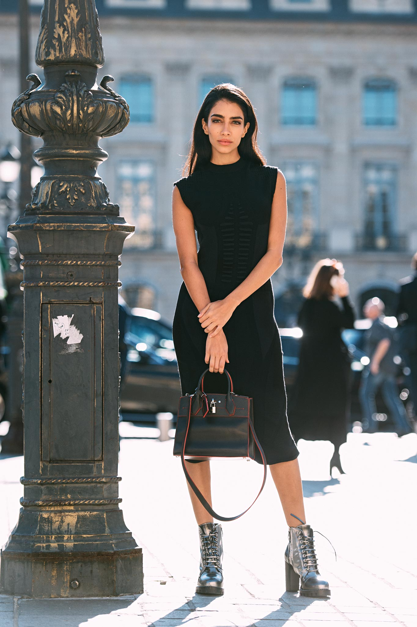 Jessica Kahawaty at Paris Fashion Week Spring/Summer 2017
