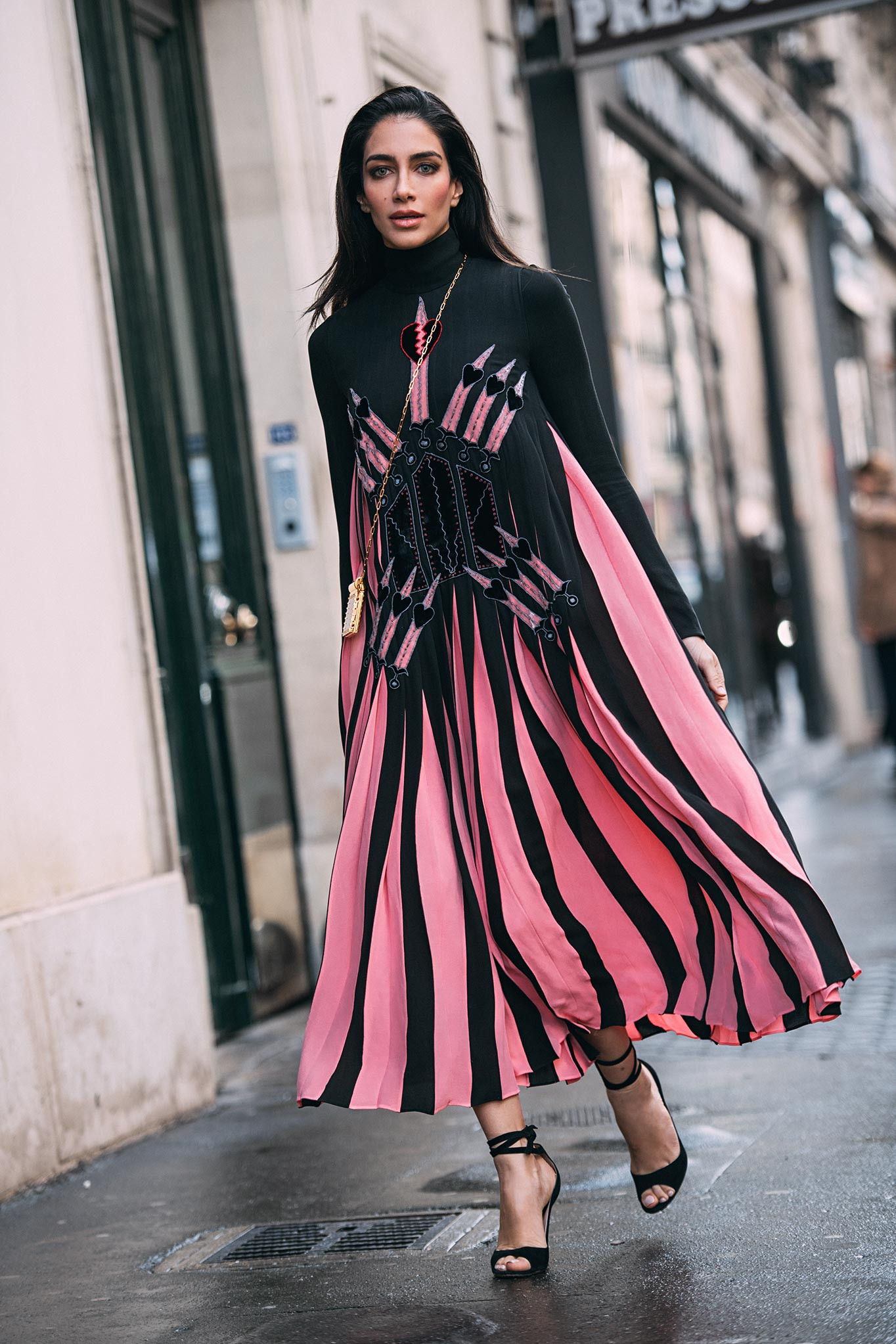 Jessica Kahawaty at Paris Fashion Week Fall/Winter 2017
