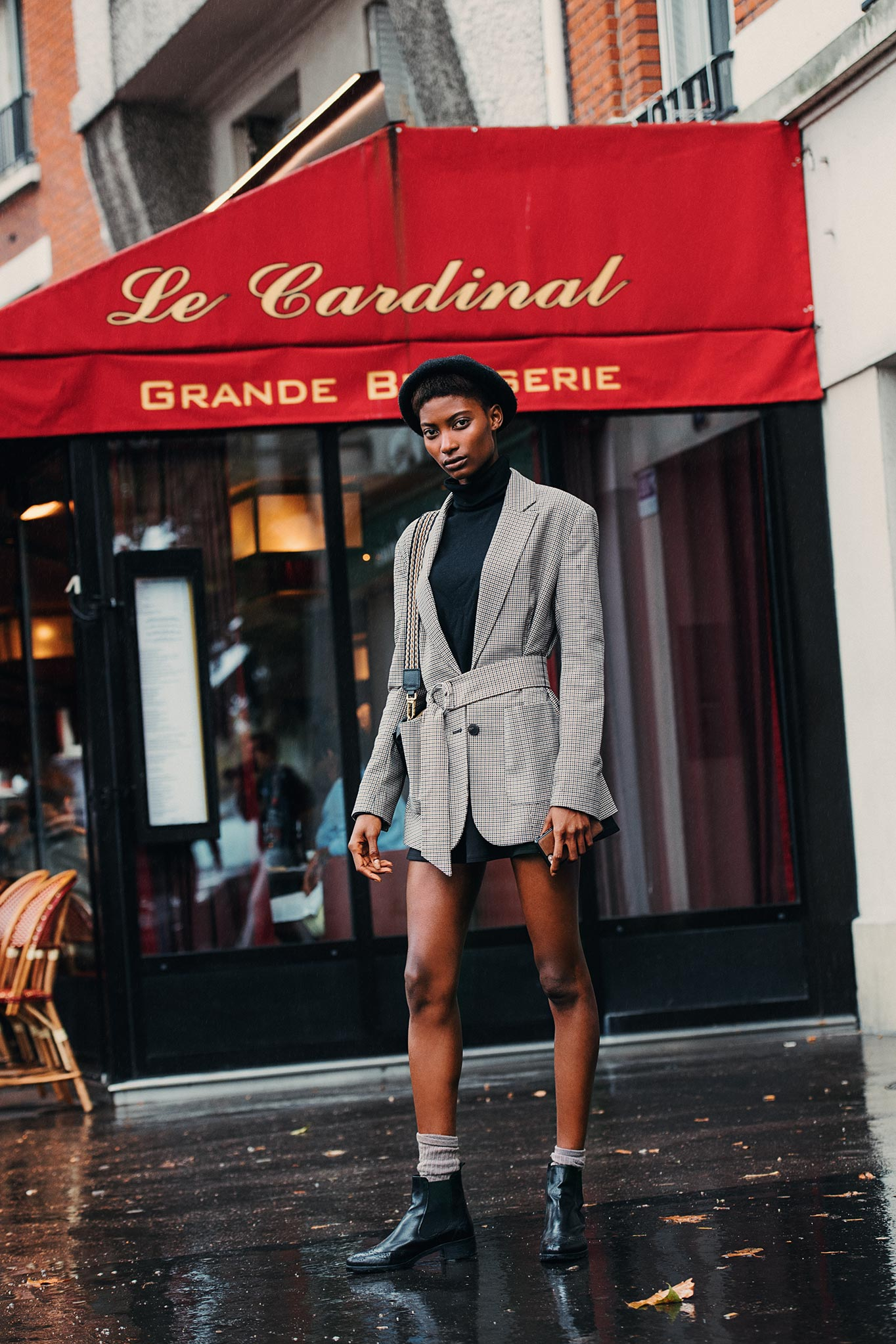 Mame Camara at Paris Fashion Week Spring/Summer 2018