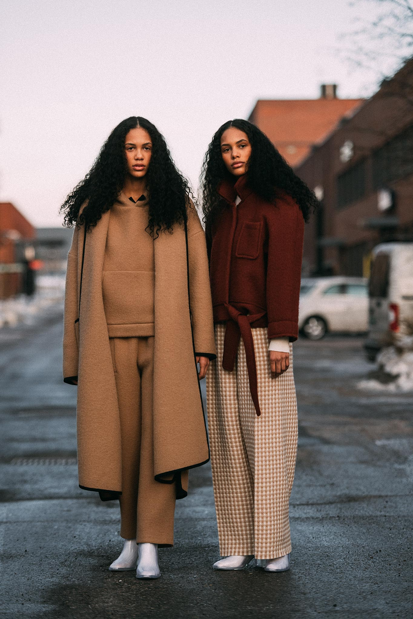 Martine & Gunnhild Chioko Johansen at Oslo Runway Fall/Winter 2018