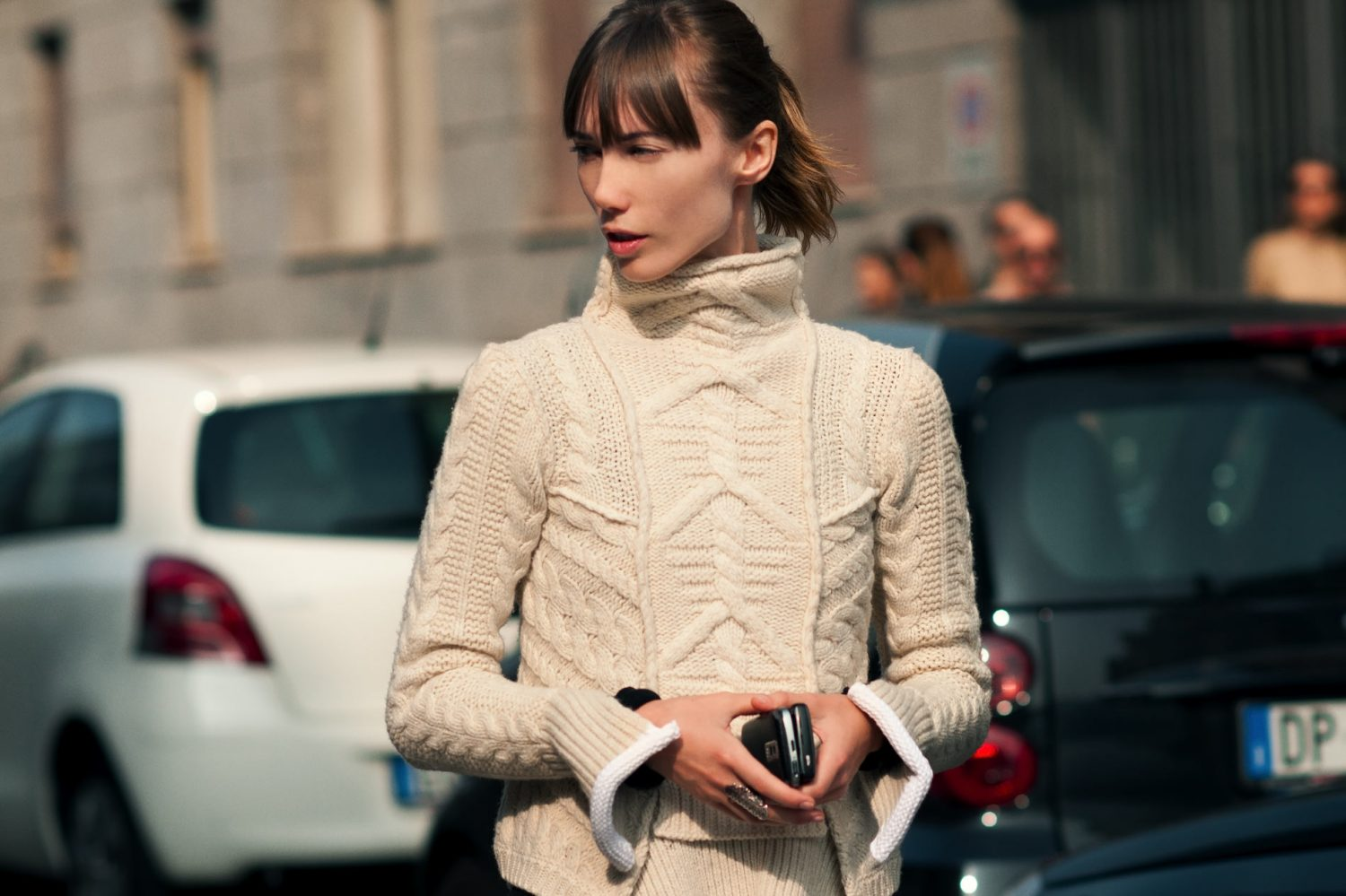 Anya Ziourova at Milan Fashion Week Spring/Summer 2012