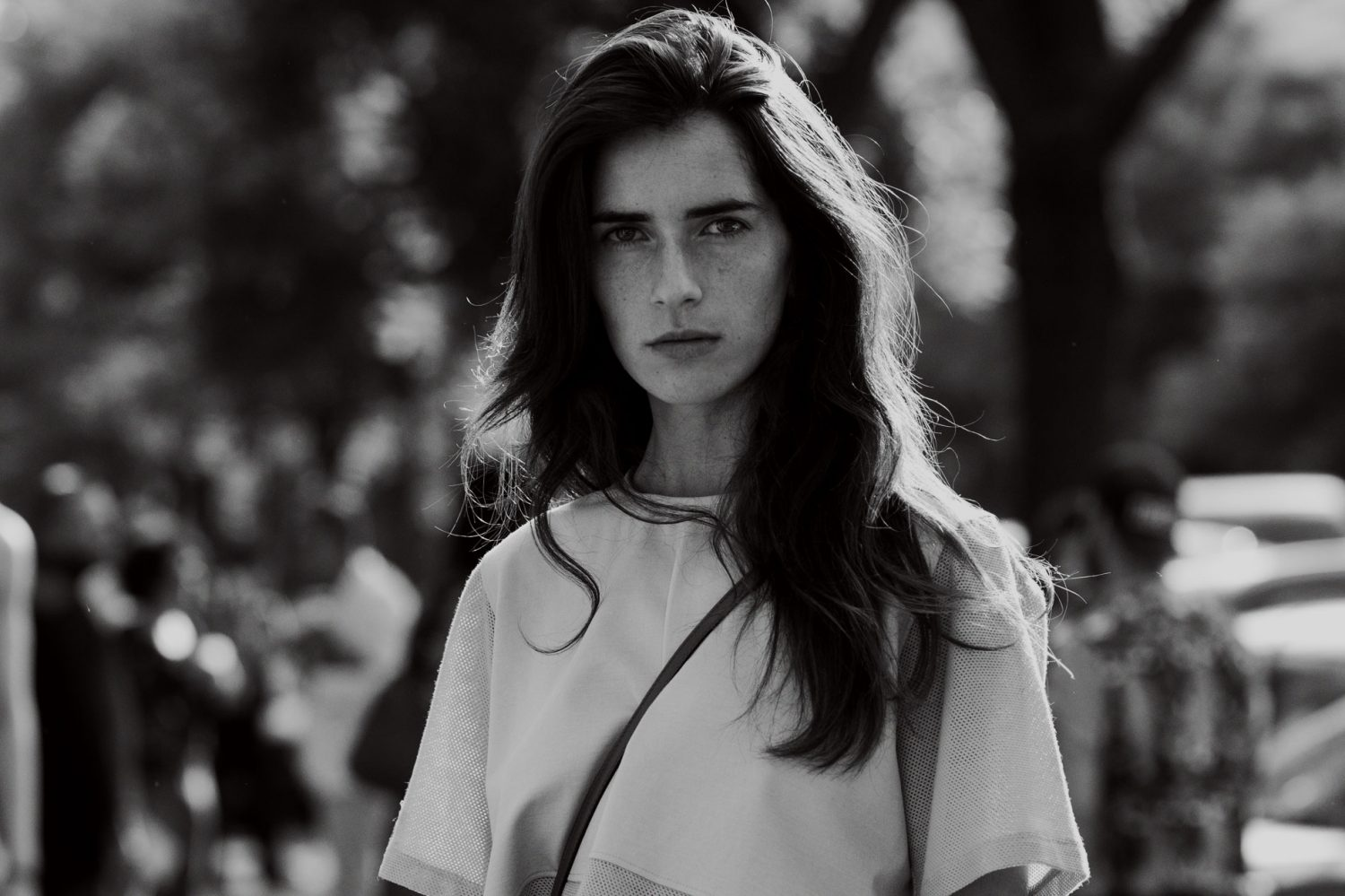 Chiara Totire at Milan Men's Fashion Week Spring/Summer 2014