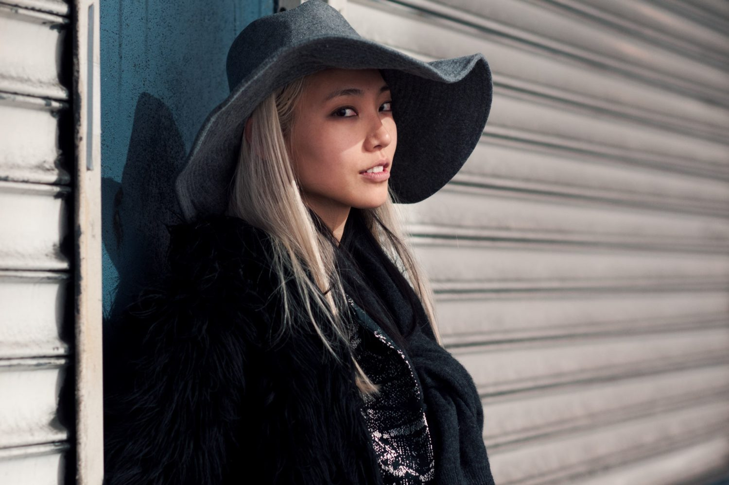 Soo Joo Park at New York Fashion Week Fall/Winter