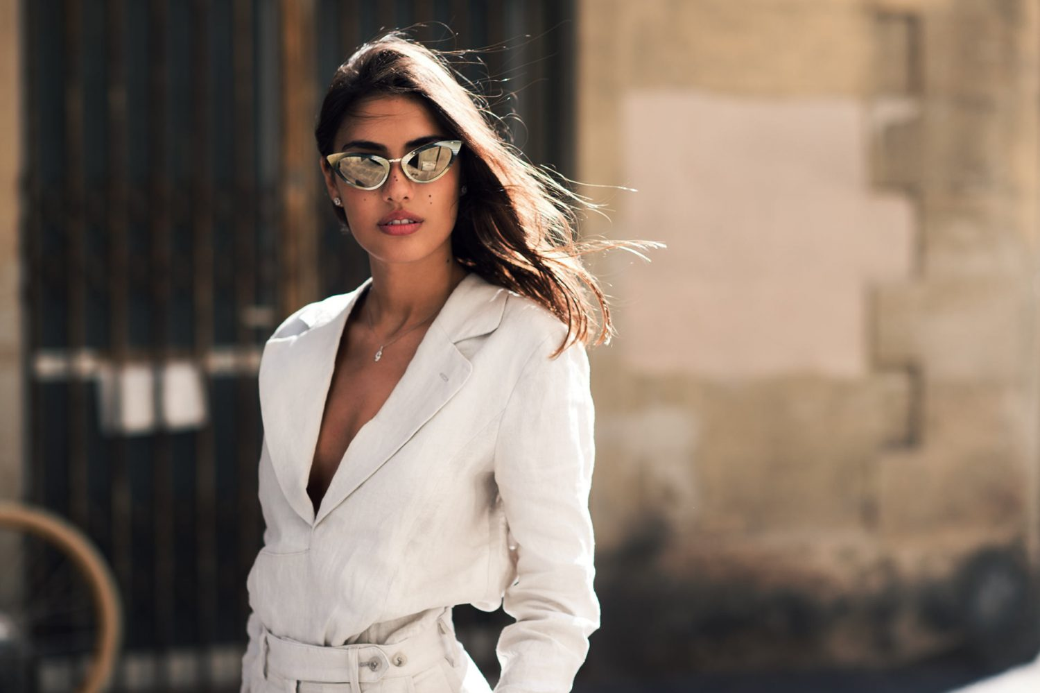 Patricia Manfield at Pitti Uomo