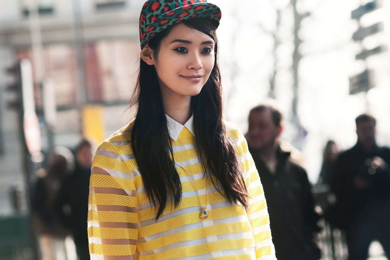 Ming Xi at Paris Fashion Week
