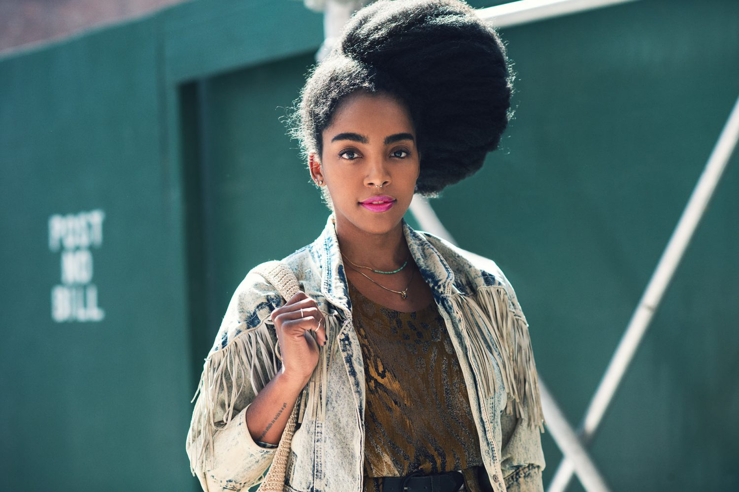 Cipriana Quann at New York Fashion Week Spring/Summer 2015