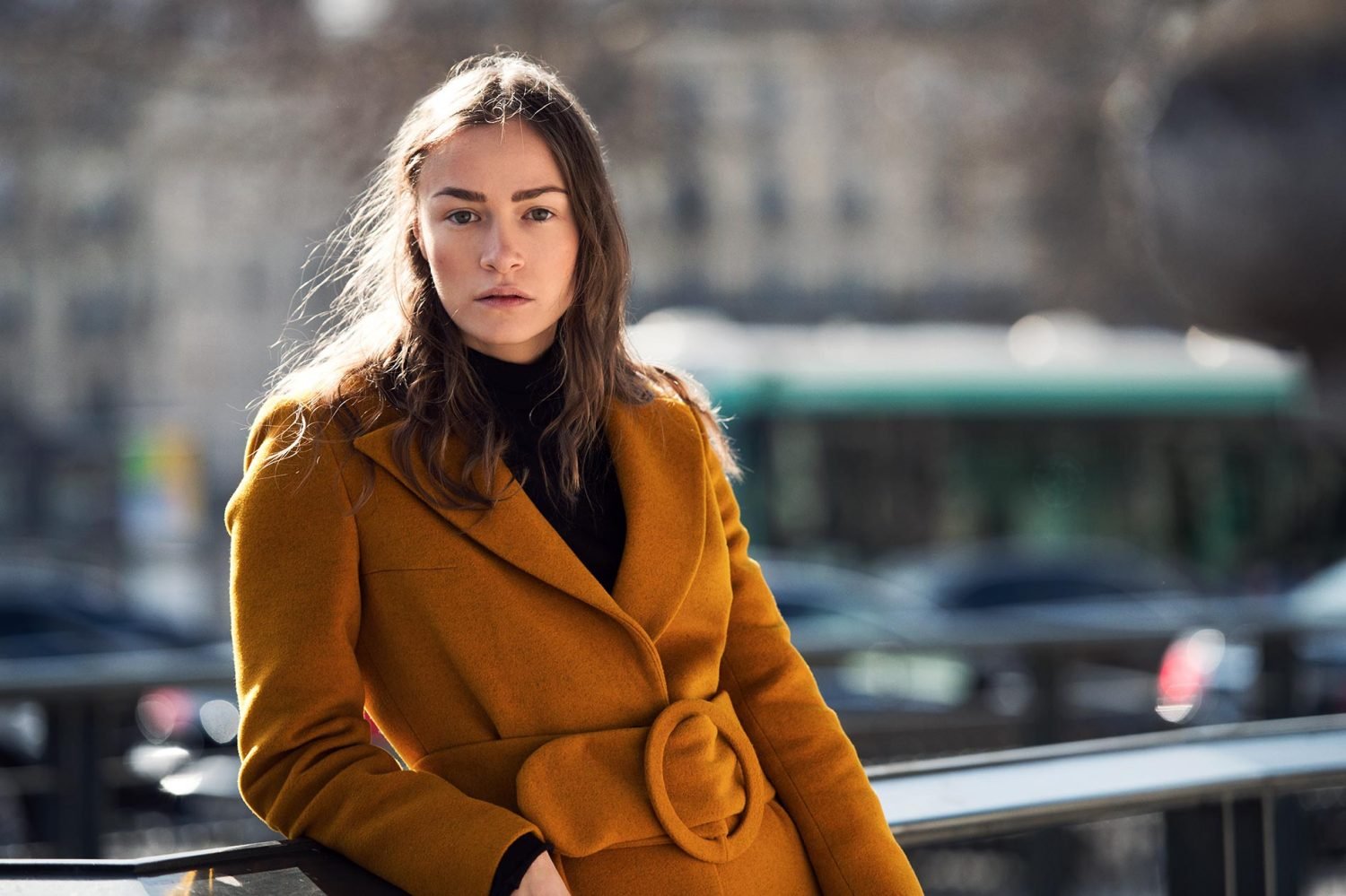 Nadiia Shapoval at Paris Fashion Week Fall/Winter 2015