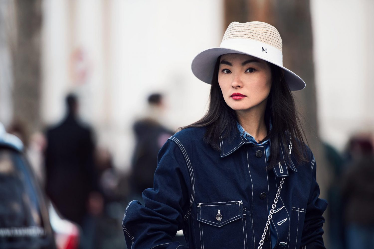 Miao Bin Si at Paris Fashion Week Fall/Winter 2015