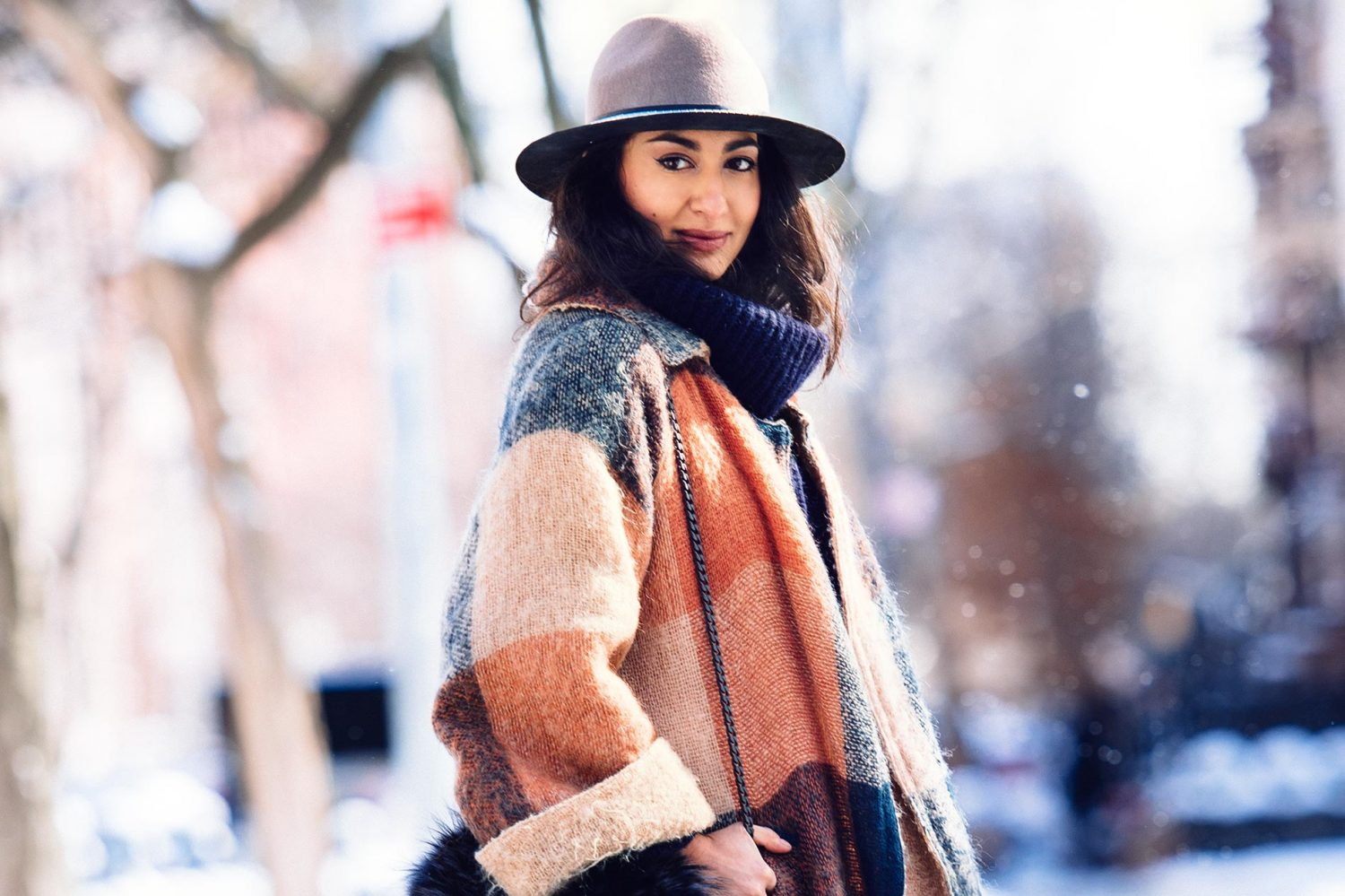 Nausheen Shah at New York Fashion Week Fall/Winter