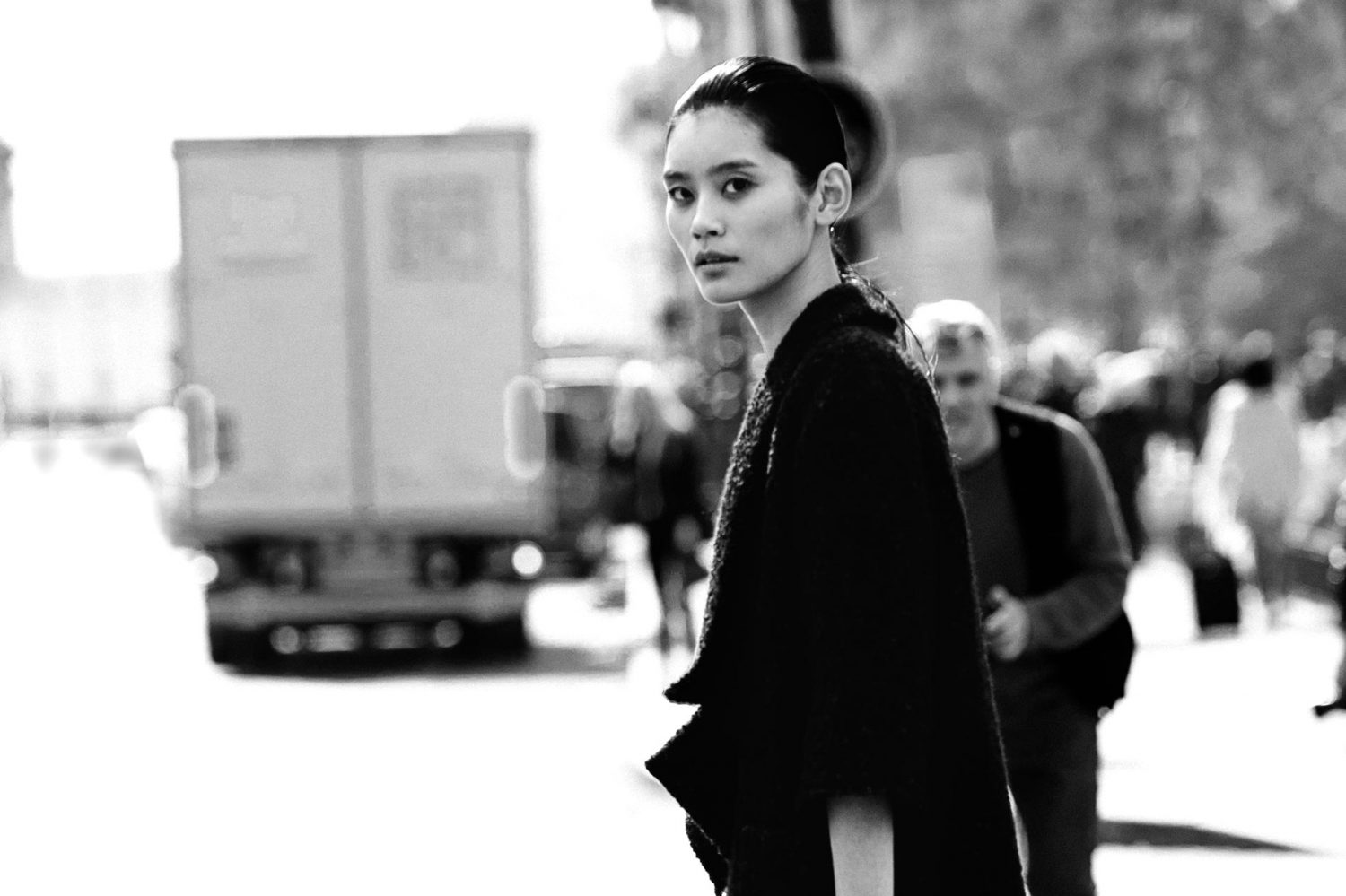 Ming Xi at Paris Fashion Week Spring/Summer 2015
