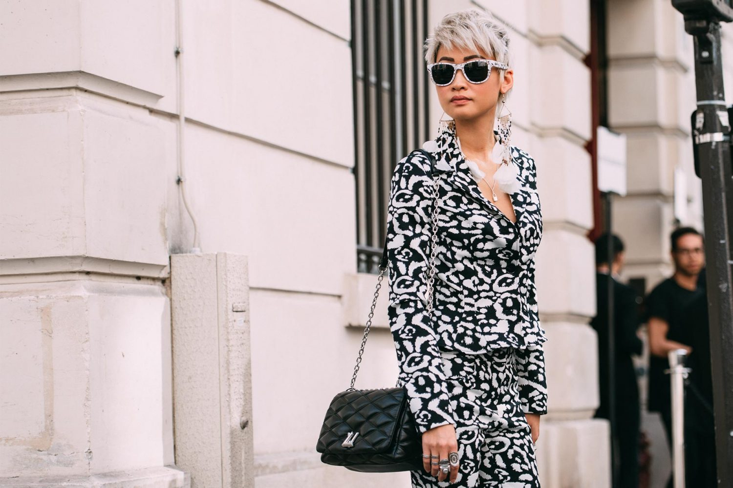Esther Quek at Paris Couture Fashion Week Fall/Winter 2016/17