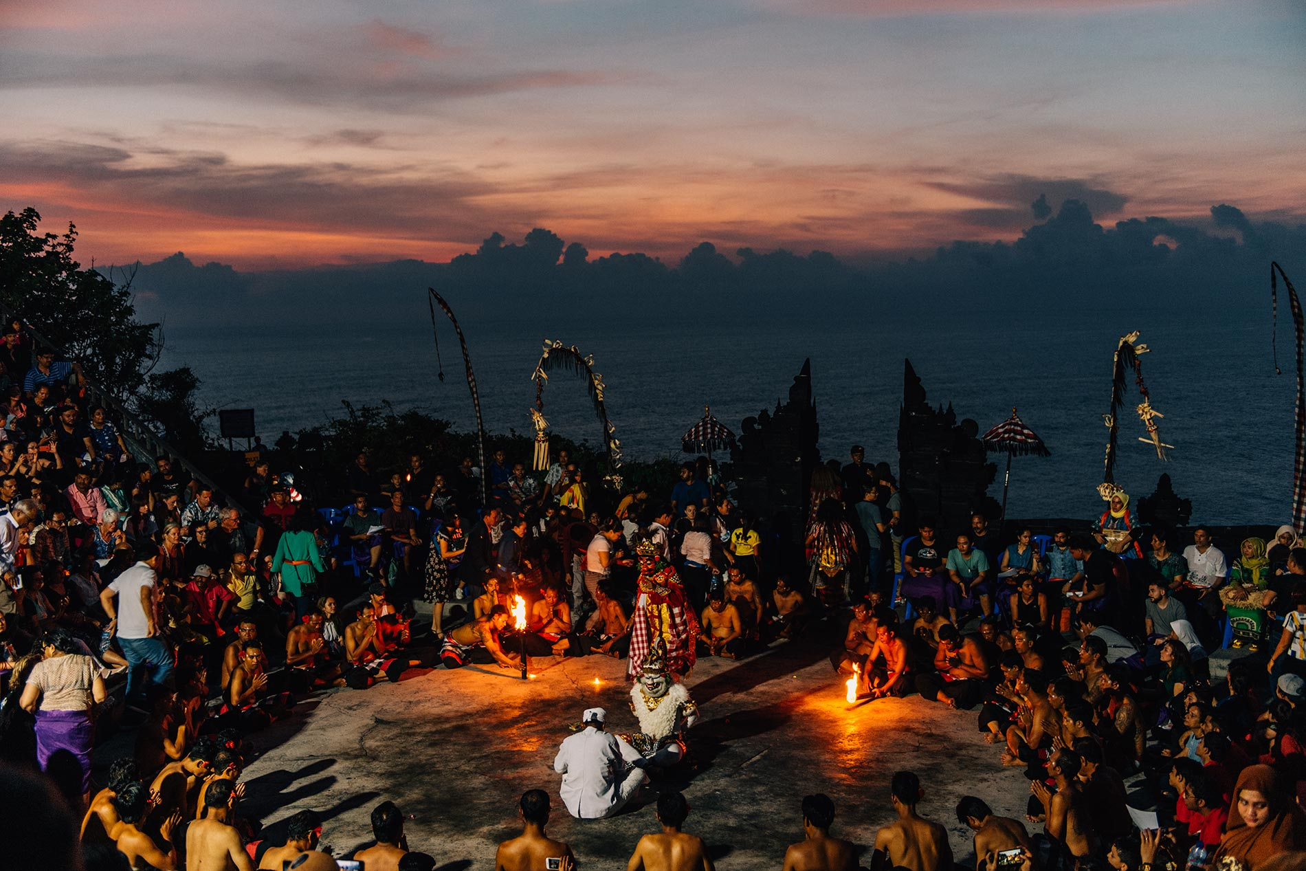 Yesim Yoga Retreat @ Kecak Fire Dance - November 2018