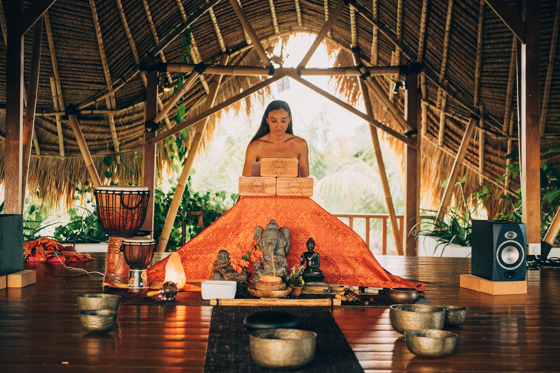 Yesim Yoga Retreat @ Sannyas Sound Headling - November 2018